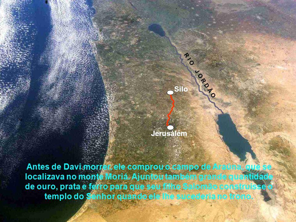 O Rei Davi, da tribo de Judá, desejava construir uma casa para Deus, onde a Arca da Aliança ficasse definitivamente guardada, ao invés de permanecer n