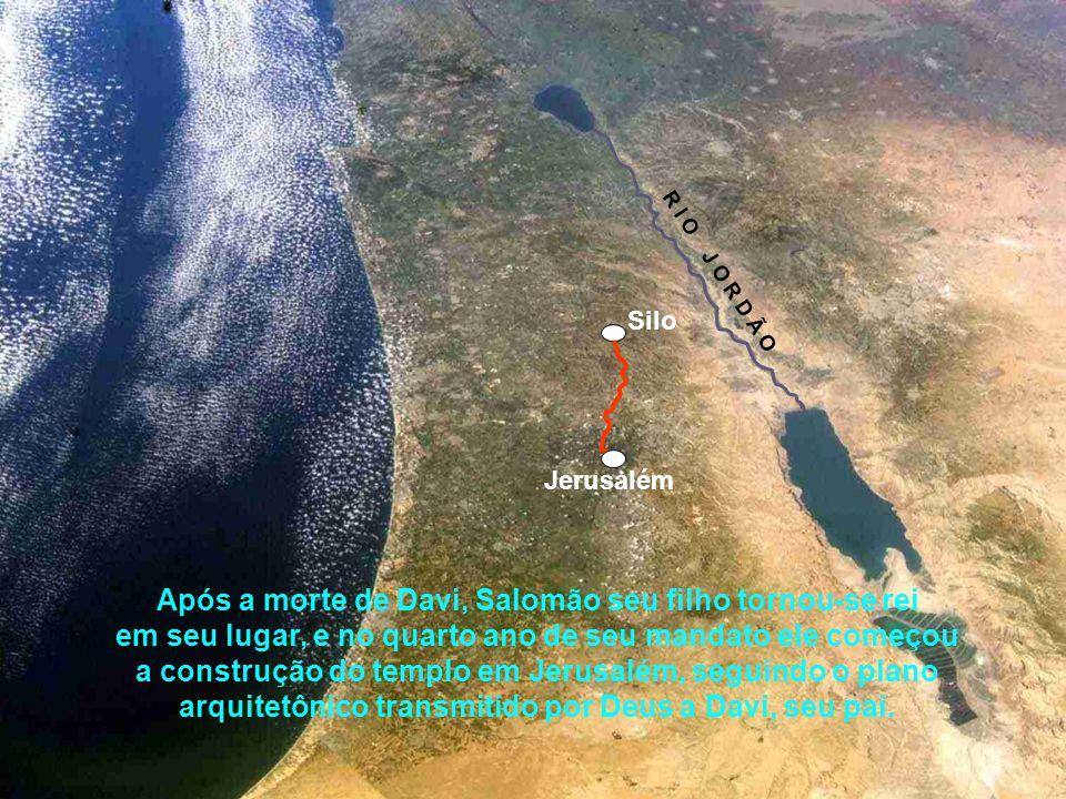 Antes de Davi morrer, ele comprou o campo de Araúna, que se localizava no monte Moriá. Ajuntou também grande quantidade de ouro, prata e ferro para qu