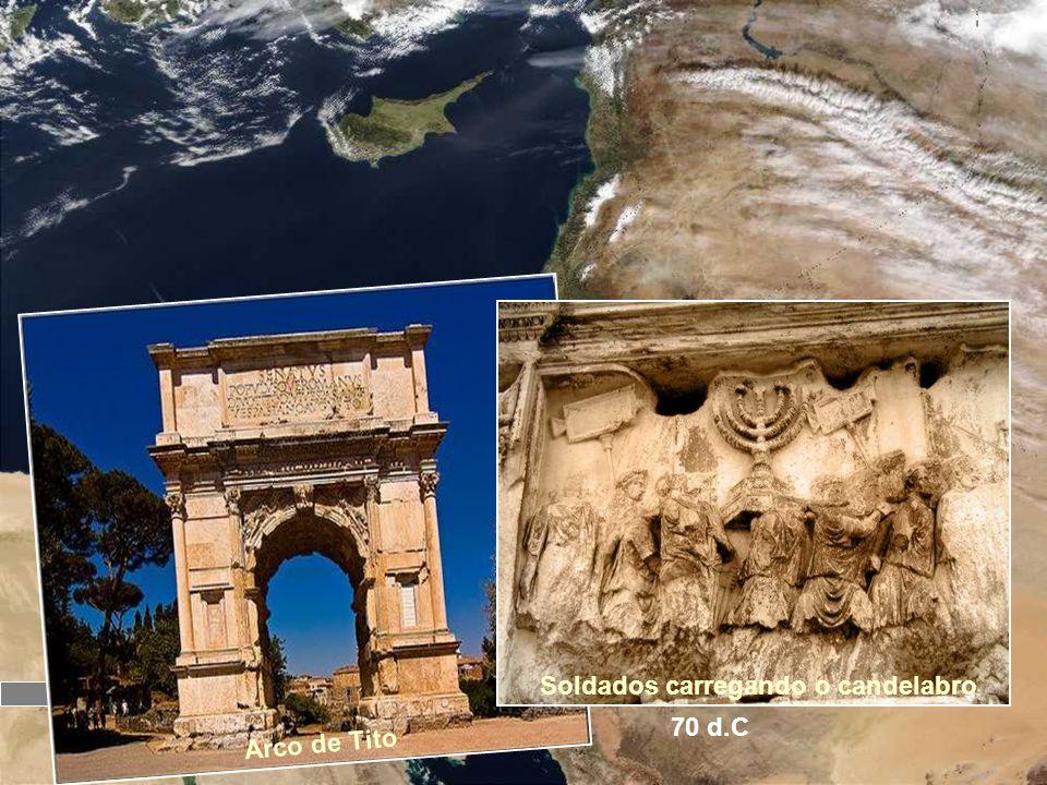Jerusalém O templo é concluído 65 d.C. Revolta dos judeus contra o domínio de Roma 66 d.C 70 d.C O templo é destruído Aos olhos de Roma, o domínio aos
