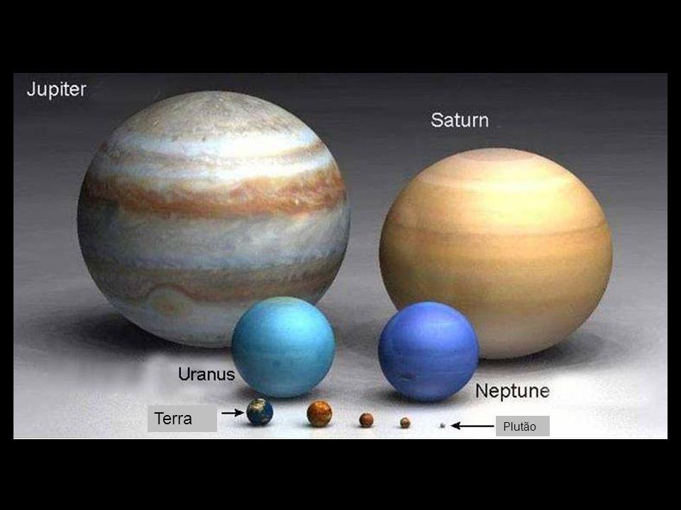 Terra Plutão Marte Mercurio