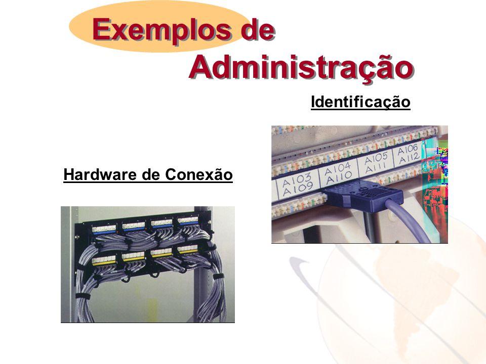 Hardware de Conexão Identificação Exemplos de Administração Exemplos de Administração
