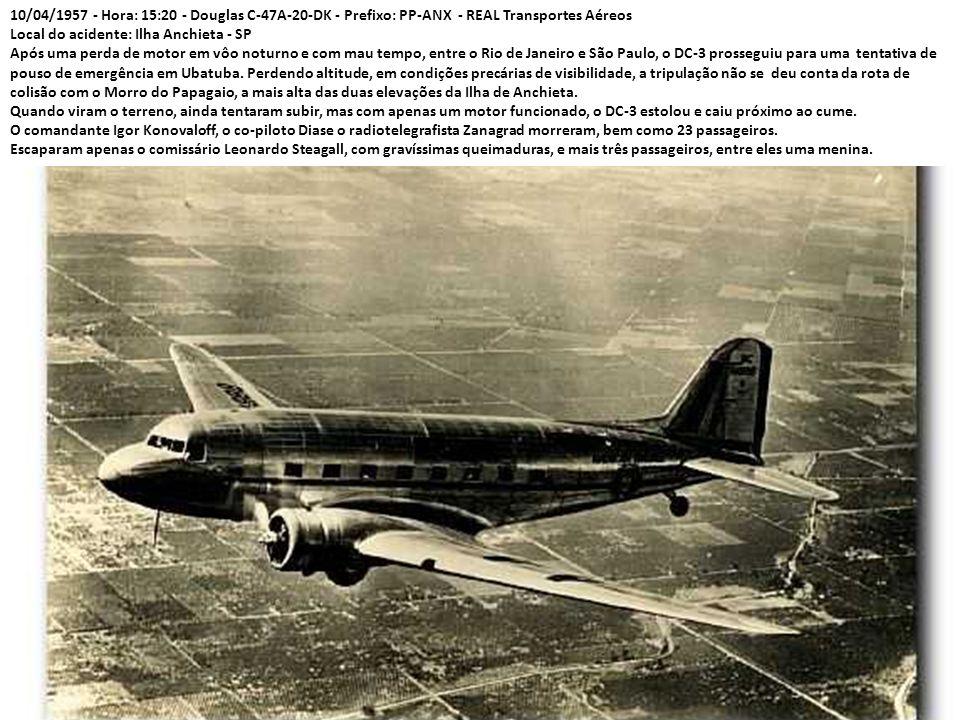 Em setembro de 56 a rota para Miami foi completada até Chicago. Foi também concluída a compra dos 85% da Nacional. A empresa, fundada em 1947, era a m
