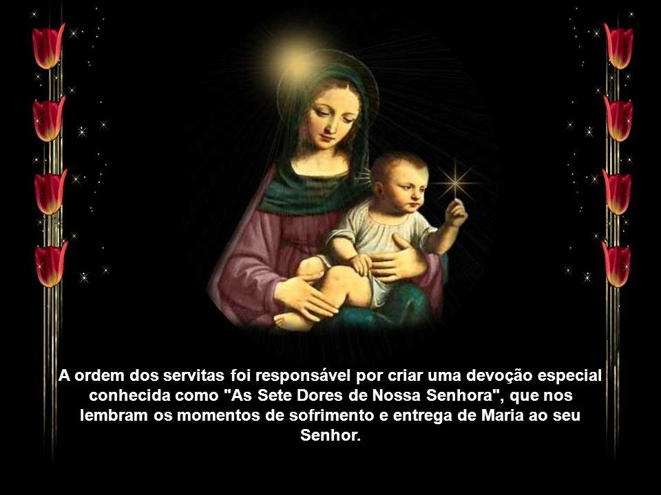 Nos primórdios da Igreja, a festa era celebrada com o nome de Nossa Senhora da Piedade e da Compaixão. No século XVIII, o papa Bento XIII determinou,