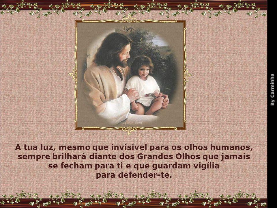 Que conquistes o grande e maior sucesso: A certeza de que és amado pelo Grande Pai.