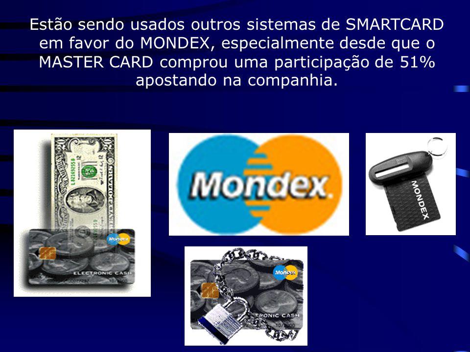 """Mais de 250 corporações em 20 países estão envolvidos trazendo MONDEX para o mundo e muitas nações já foram """"privilegiadas"""" para usar o sistema; entre"""