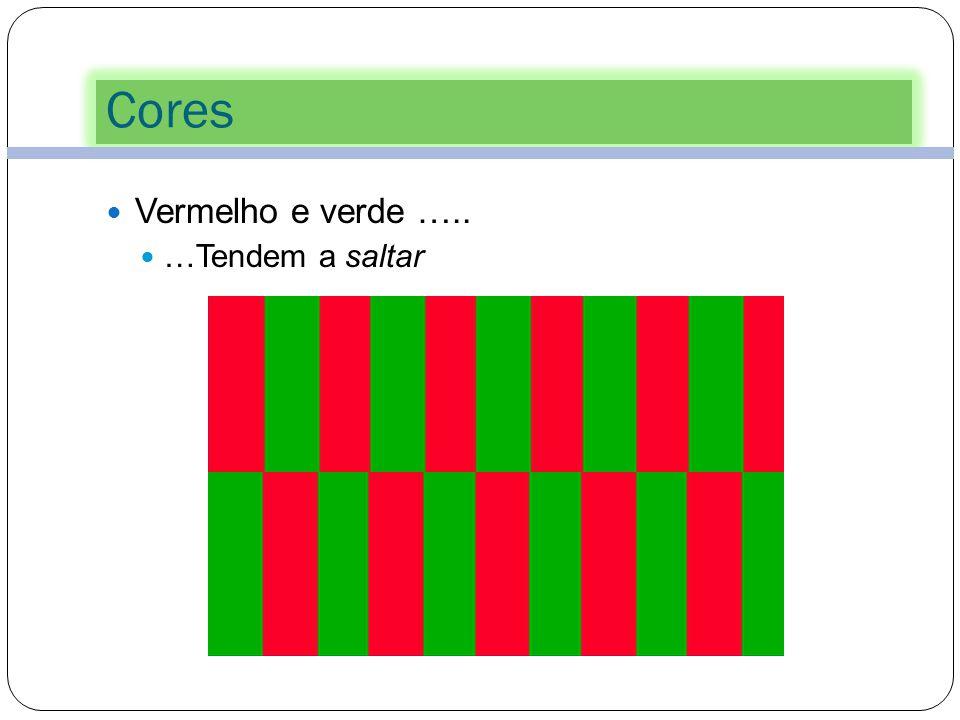 Cores 35 Restrinja o número de cores que vai usar na sua apresentação. Não use mais do que 5 cores por diapositivo. Cores suaves conseguem ser mais ef