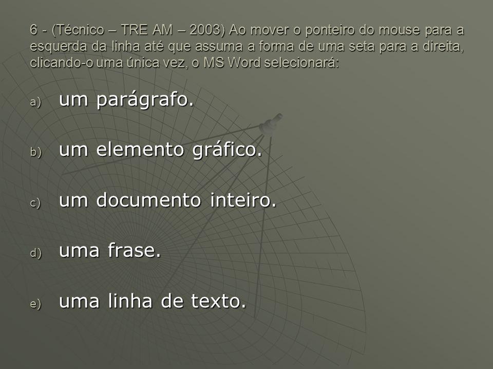 7 - (Técnico – TRE AM – 2003) Um arquivo novo será criado, após a digitação de um documento por meio do editor MS Word 2000, utilizando-se a caixa de diálogo a) Salvar como.