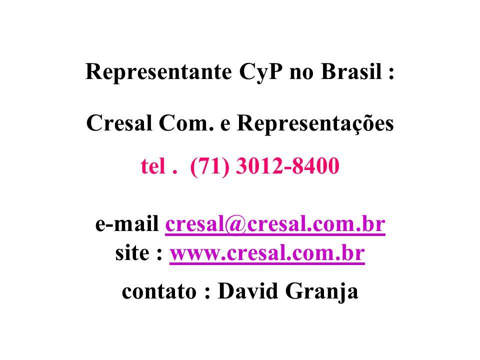 """ALGUNS DOS PRINCIPAIS CLIENTES DE CyP S/A ARCOR ARGENTINA e BRASIL CAROZZI CHILE (ex """"COSTA"""") GAROTO BRASIL MONDELEZ (Lacta) ARGENTINA e BRASIL HERSHE"""