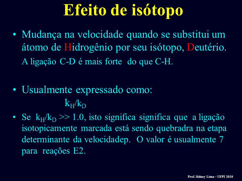 A regra de Zaitsev, baseada em observações experimentais de desidratação de álcoois, expressa a preferência para que as eliminações dêem o alcene (mai