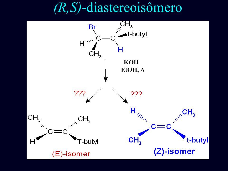 (S,S)-diastereoisômeros KOH EtOH, 