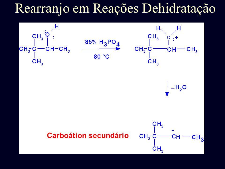 Mecanismo de Dehidratação