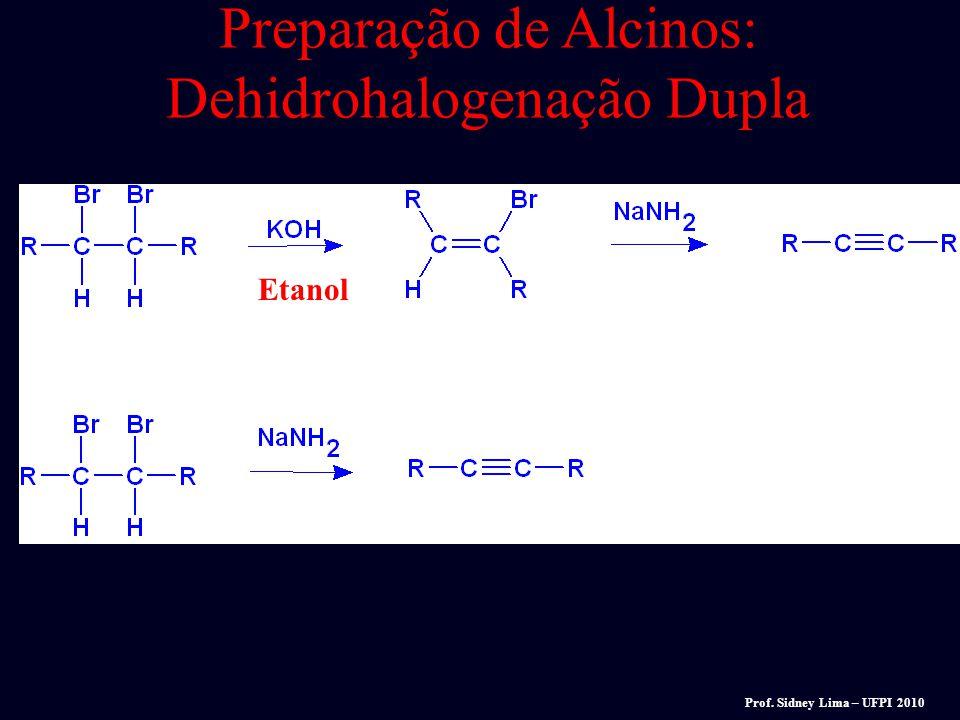 Não volumosa base volumosa t-BuOK KOCH 3 Reações E2 x S N 2