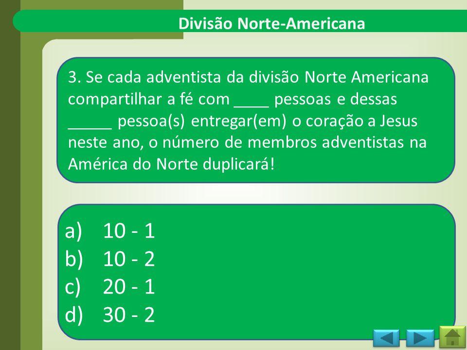 Divisão Norte-Americana 3.