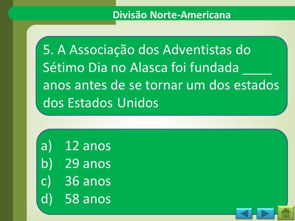Divisão Norte-Americana 5.
