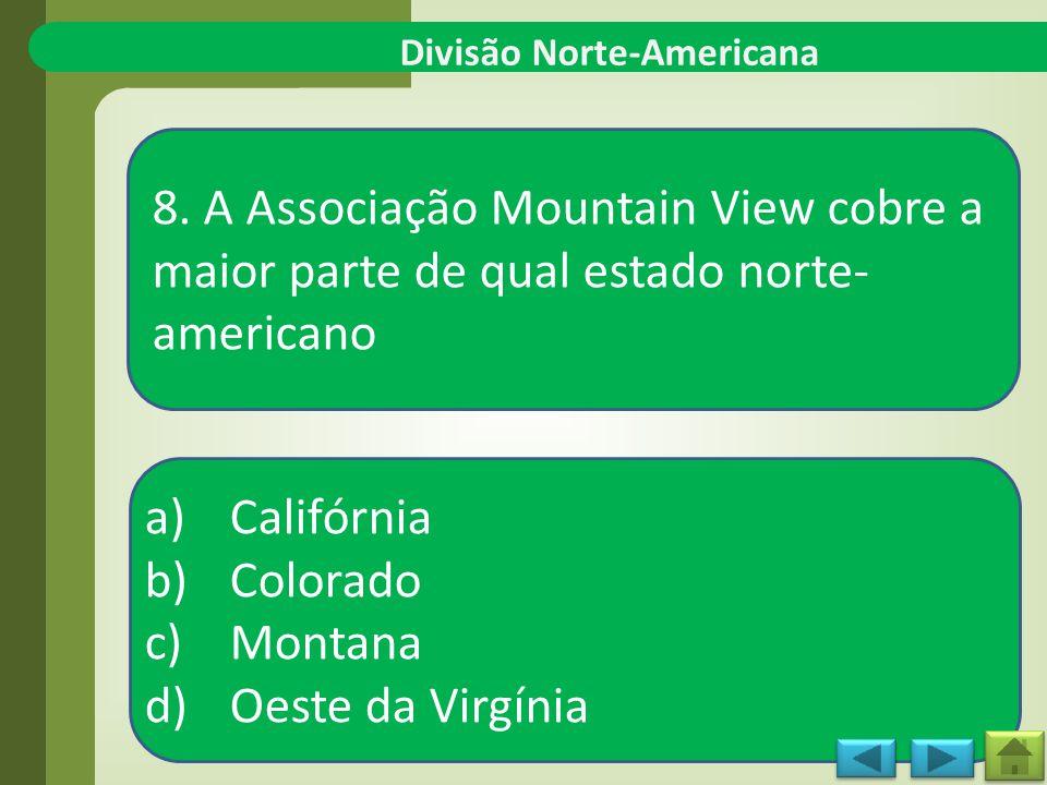 Divisão Norte-Americana 8.