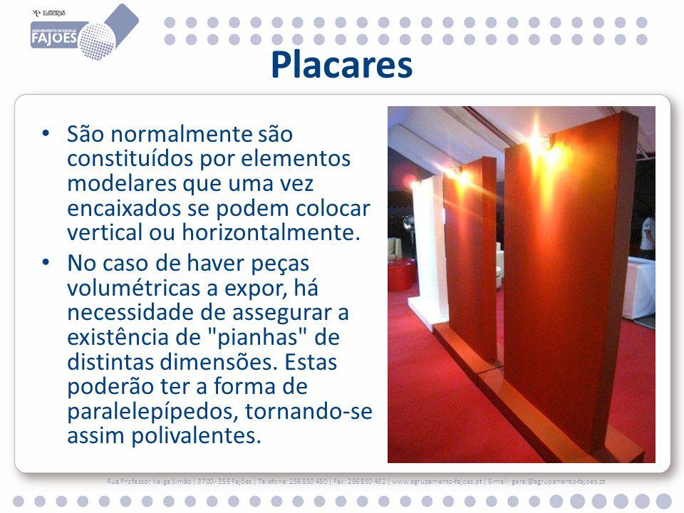 Placares São normalmente são constituídos por elementos modelares que uma vez encaixados se podem colocar vertical ou horizontalmente.