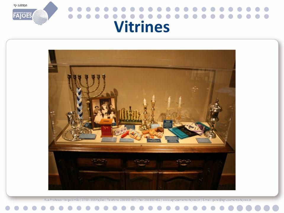 Vitrines Rua Professor Veiga Simão | 3700 - 355 Fajões | Telefone: 256 850 450 | Fax: 256 850 452 | www.agrupamento-fajoes.pt | E-mail: geral@agrupame