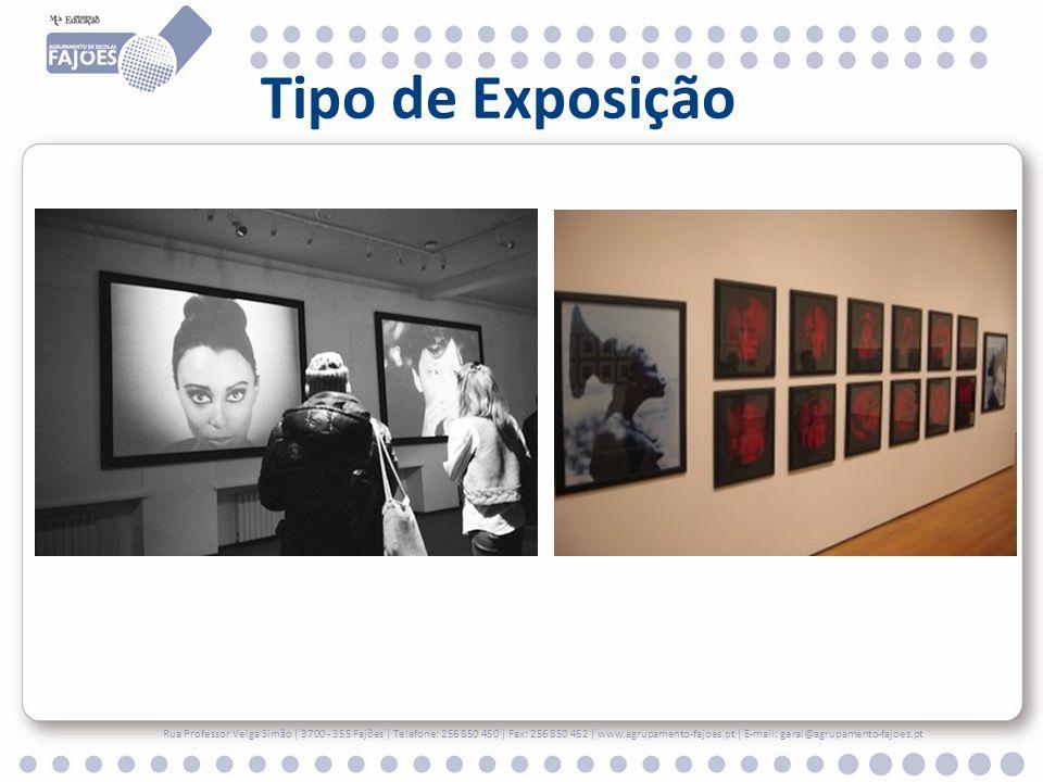 Tipo de Exposição Rua Professor Veiga Simão | 3700 - 355 Fajões | Telefone: 256 850 450 | Fax: 256 850 452 | www.agrupamento-fajoes.pt | E-mail: geral