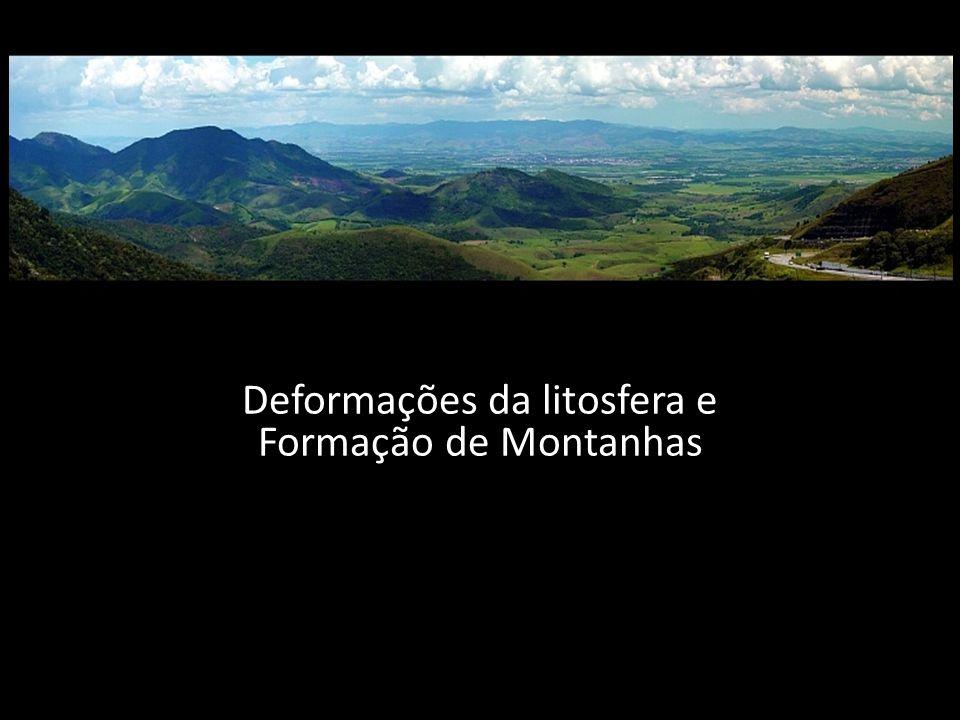 Deformações da litosfera e Formação de Montanhas