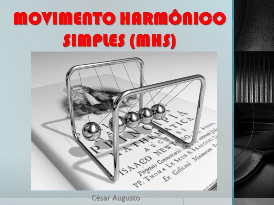 MOVIMENTO HARMÔNICO SIMPLES (MHS) César Augusto