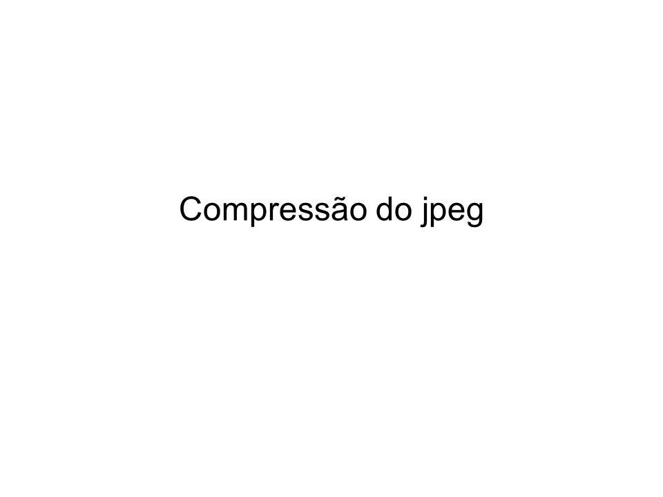 Compressão do jpeg