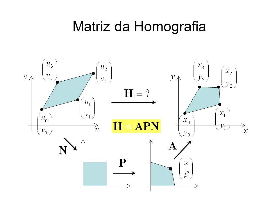 Matriz da Homografia