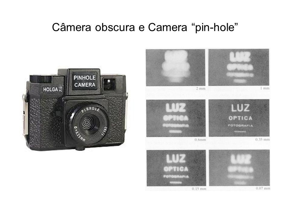 Câmera obscura e Camera pin-hole