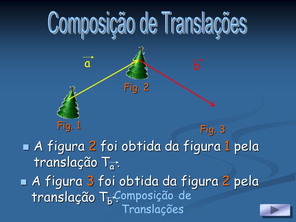 Vectores na Translação Numa translação todos os pontos se deslocam numa dada direcção, sentido e distância. Como tal, pode ser representada por um vec