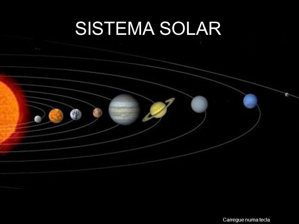 NEPTUNO Posição em relação ao Sol: Oitavo Diâmetro Equatorial: 49.528 Km Distância Máxima ao Sol: 4.537.000.000 Km Distância mínima ao Sol: 4.456.000.000 Km Distância média ao Sol: 4.496.600.000 Km Velocidade orbital: 5,43 Km/s Massa (Terra=1): 17,2 Satélites: 8 Período de translação: 165 anos Período de rotação: 16:07 hs.