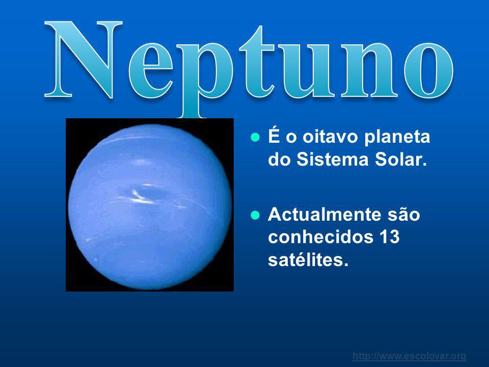 http://www.escolovar.org Foi o primeiro planeta descoberto com a ajuda de um telescópio. Foi descoberto em 1781.