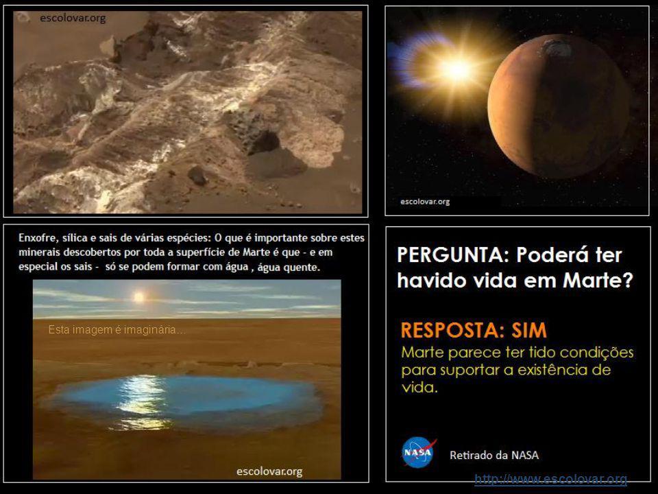 http://www.escolovar.orgMarte Marte é designado por planeta vermelho. Em seu redor existem dois pequenos satélites: Fobos e Deimos.