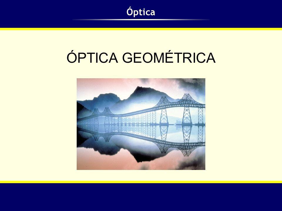 Óptica ÓPTICA GEOMÉTRICA