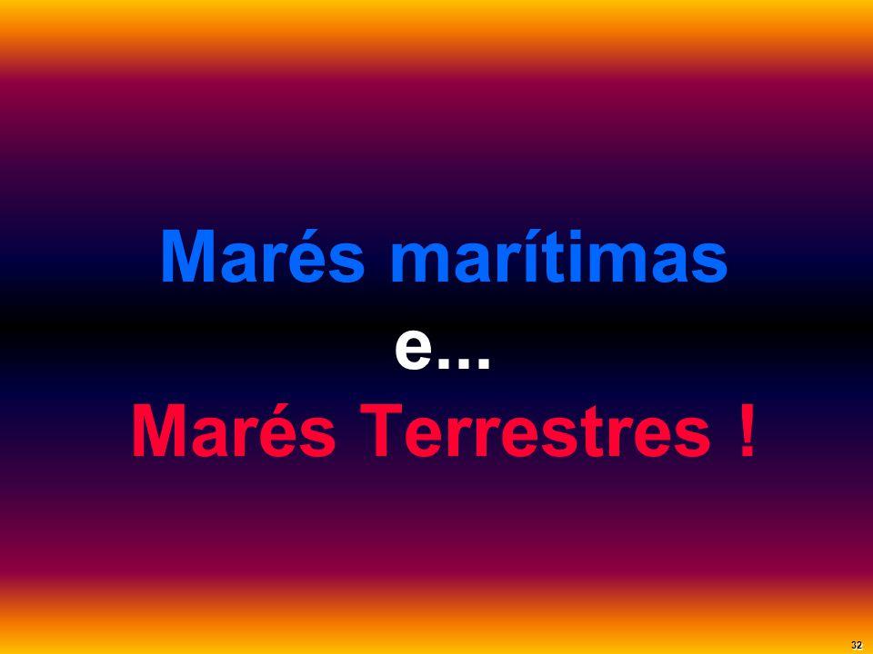 Marés marítimas e... Marés Terrestres ! 32