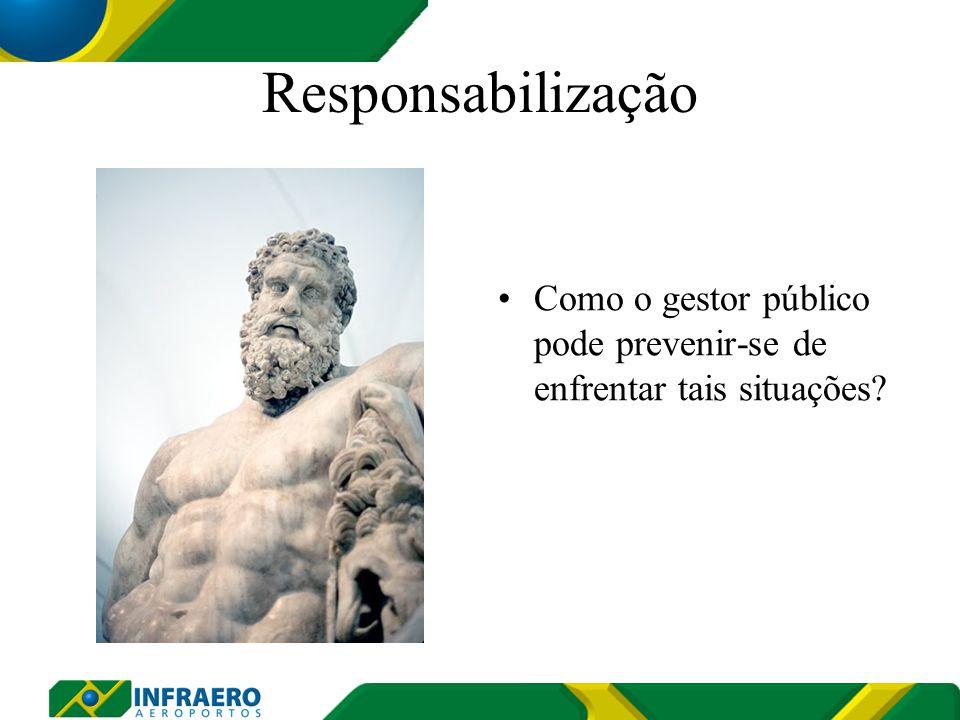 Responsabilização Como o gestor público pode prevenir-se de enfrentar tais situações
