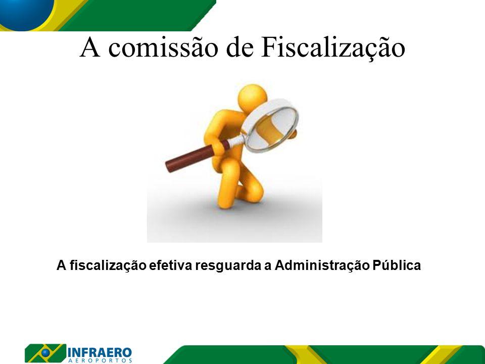 A comissão de Fiscalização A fiscalização efetiva resguarda a Administração Pública