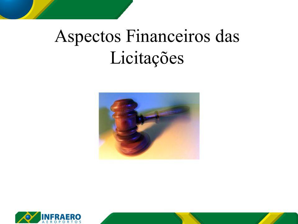 Aspectos Financeiros das Licitações