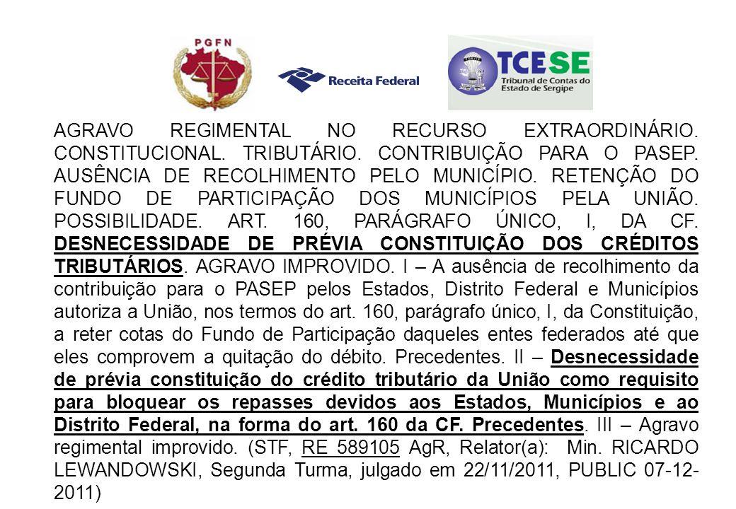 AGRAVO REGIMENTAL NO RECURSO EXTRAORDINÁRIO. CONSTITUCIONAL.