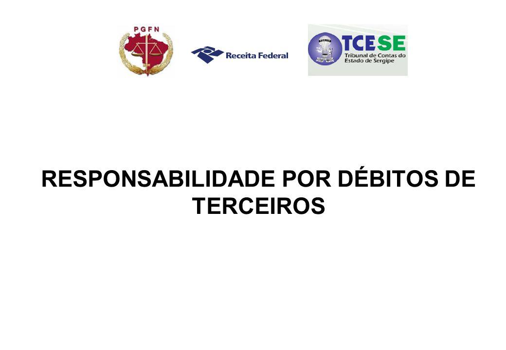 RESPONSABILIDADE POR DÉBITOS DE TERCEIROS