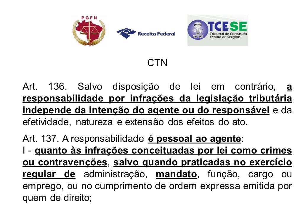 CTN Art. 136.