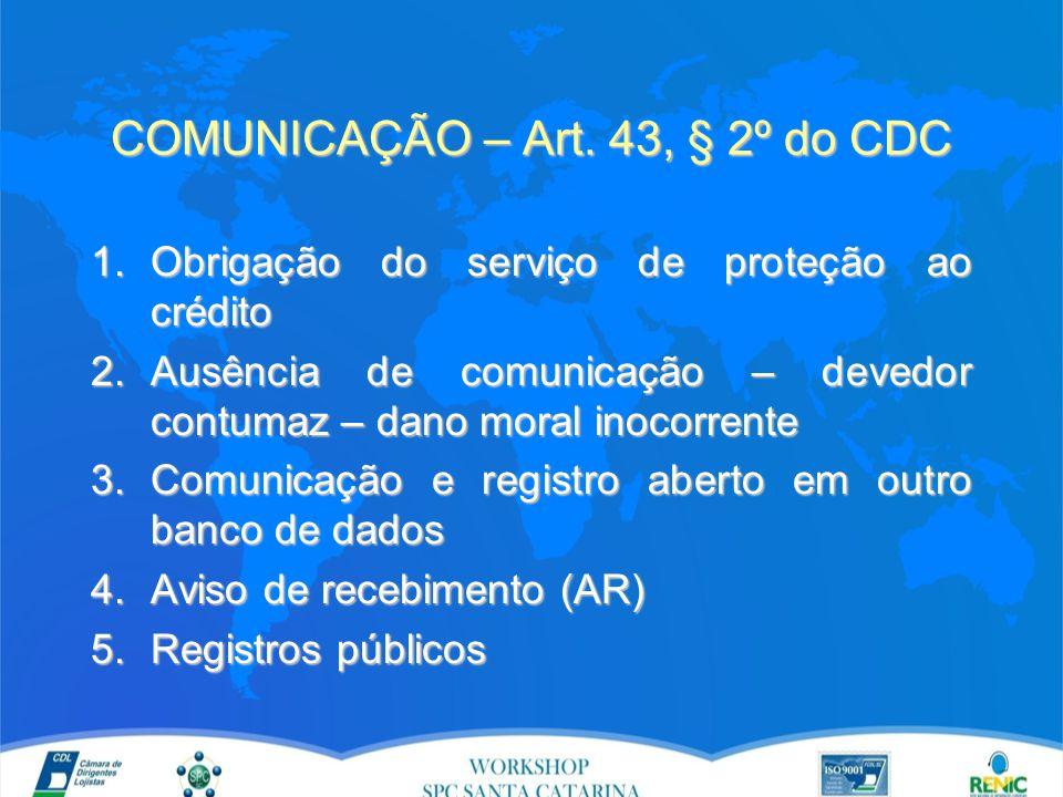 COMUNICAÇÃO – Art.