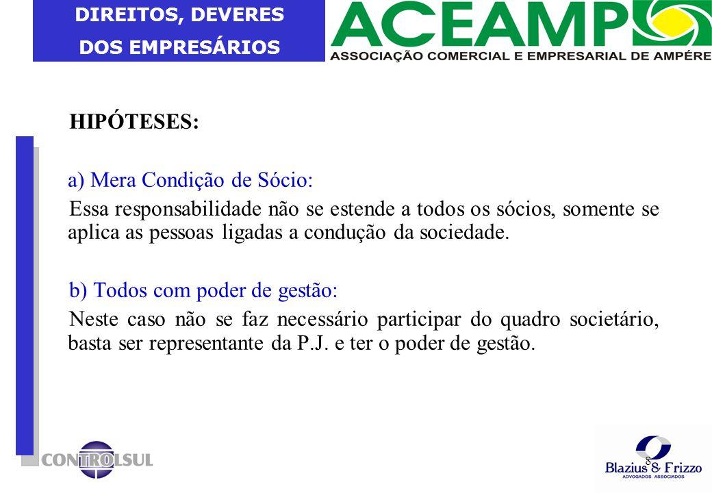DIREITOS, DEVERES DOS EMPRESÁRIOS 19 Dos Crimes Fiscais e Contribuição Social Art.