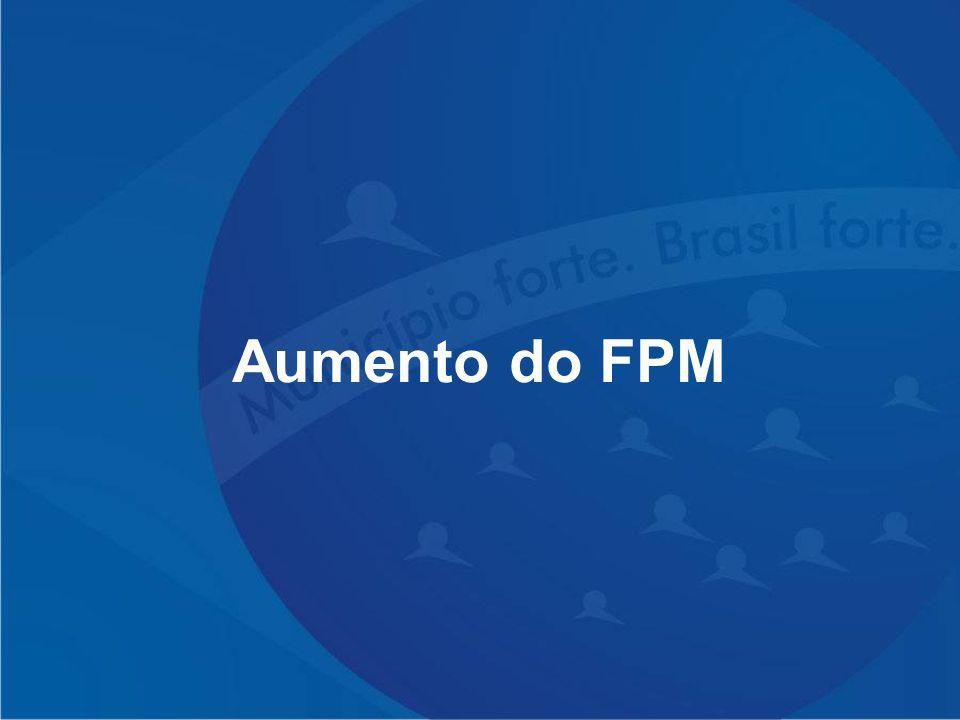 Aumento do FPM