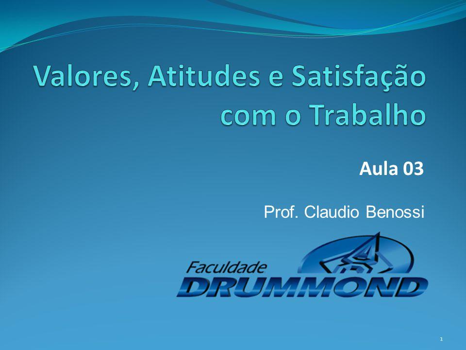 Aula 03 Prof. Claudio Benossi 1