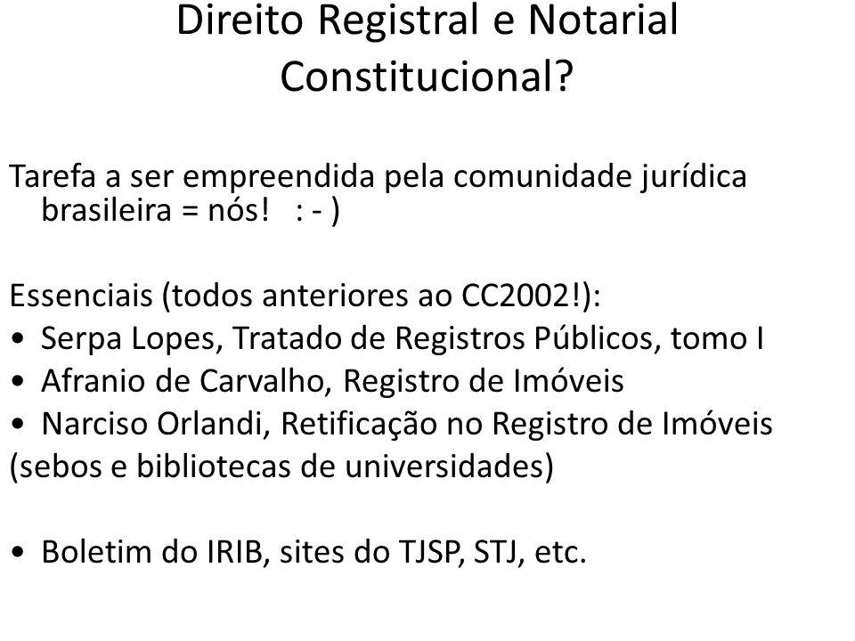 Serviços Notariais e de Registro *Função* Art.
