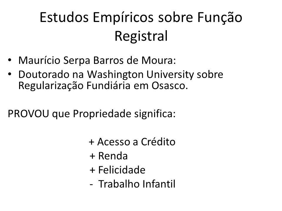 = Direito ao Registro (e ao sistema notarial e registral).