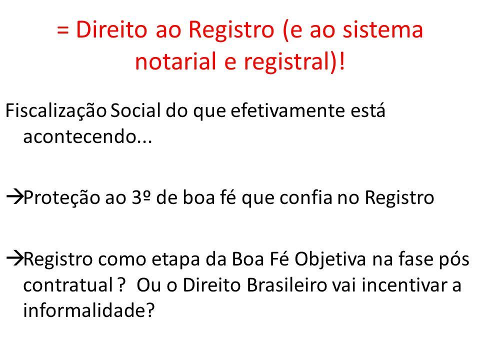 Serviços Notariais e de Registro.