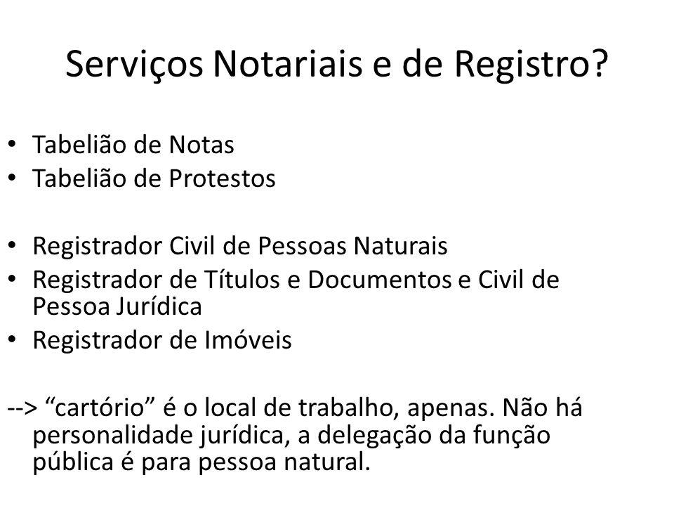 Tabelionato de Notas Lei 8935 Art.