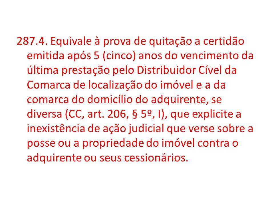 As regras de Regularização Fundiária do Prov.
