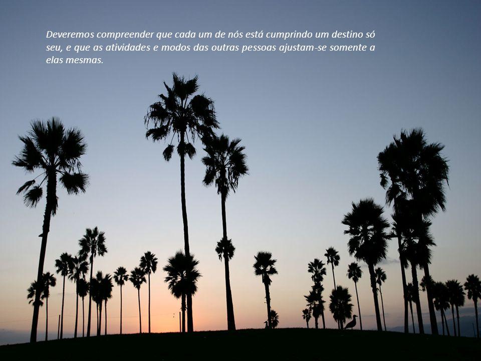 O perdão concede a paz de espírito, mas essa concessão escapará da alma se estivermos presos ao desejo de dirigir os passos de alguém não aceitando o
