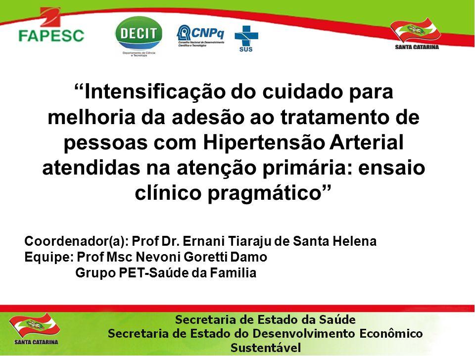 Coordenador(a): Prof Dr.